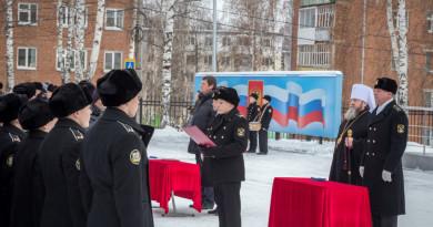 Митрополит Викторин принял участие в церемонии принятия присяги кадетами
