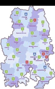 Карта митрополии