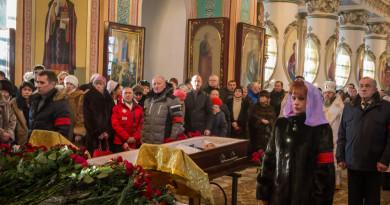 В Александро-Невском соборе Ижевска прошло прощание с Афанасием Тубыловым