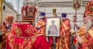 Престольный праздник в храме великомученика Пантелеимона г. Воткинска