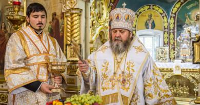 Престольные торжества в Преображенском храме г. Воткинска