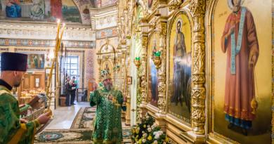 Престольный праздник Александро-Невского кафедрального собора