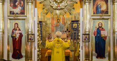 Архиерейское служение в Неделю 20-ю по Пятидесятнице