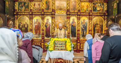 Архипастырское служение в праздник Обрезания Господня