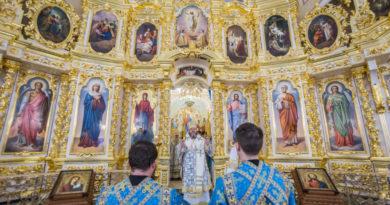 Всенощное бдение накануне открытия Иверского храма