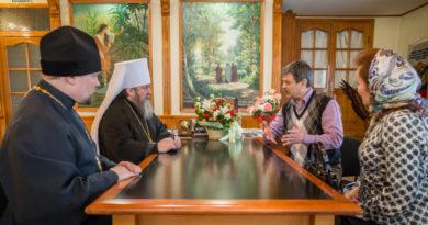 Митрополит Викторин встретился с представителями Всероссийского общества глухих