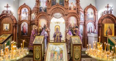 Митрополит Викторин посетил храм п. Новый Воткинского района