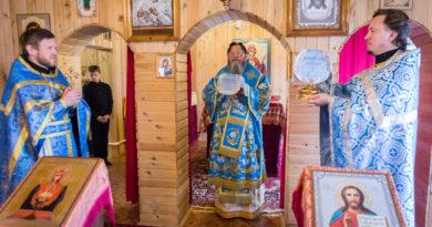 Митрополит Викторин посетил приход в с. Постол