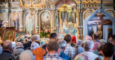 Престольный праздник храма Успения Пресвятой Богородицы г. Ижевска
