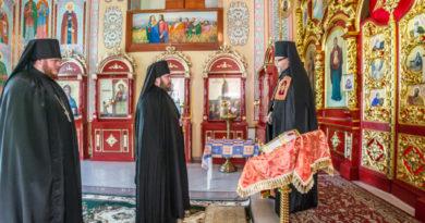 В Свято-Троицком соборе Ижевска состоялся монашеский постриг
