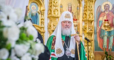 Святейший Патриарх Кирилл поблагодарил духовенство и верующих Удмуртии за гостеприимство