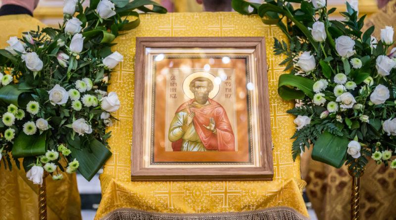 Мученик Викторин икона