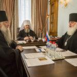 Состоялось заседание архиерейского совета митрополии