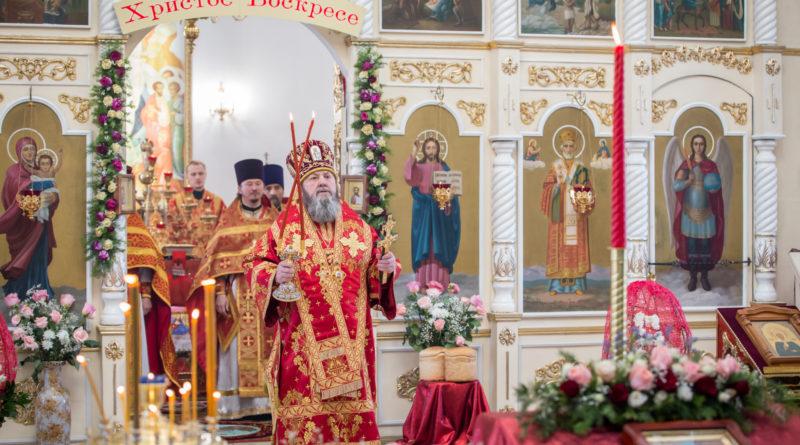 В субботу Светлой седмицы митр. Викторин посетил Никольский храм с. Завьялово