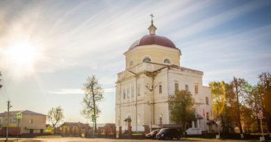 Архипастырский визит в храм свт. Николая Чудотворца с. Вавож
