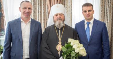 Митр. Викторин встретился с представителями МВД по УР