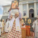 В Воткинске состоялся чин прославлениясщмч. Николая Чернышева и его дочери Варвары