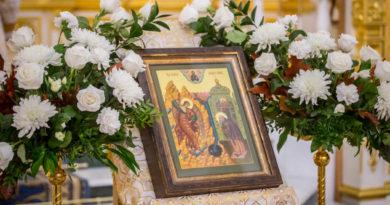 Малый престольный праздник кафедрального собора