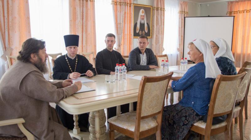 Состоялось очередное собрание Отдела социального служения Ижевской епархии
