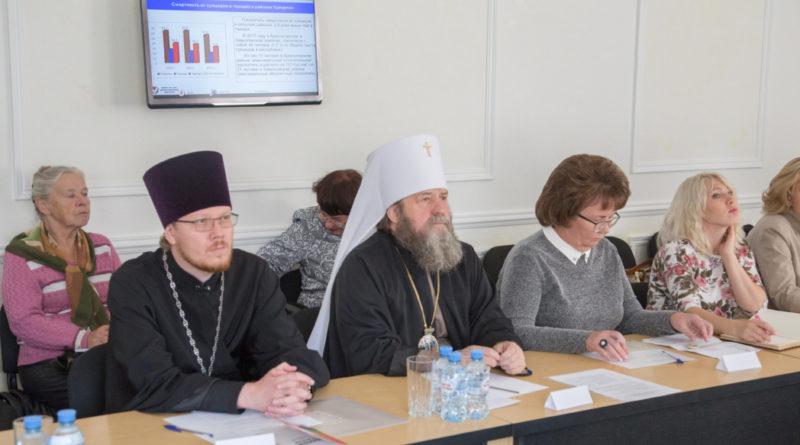 Священнослужители приняли участие в круглом столе, посвященном профилактике суицидов