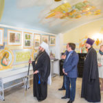 В нижнем храме Михаило-Архангельского собора открылась выставка «Свет Православия»