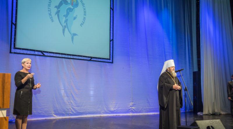 Архипастырь выступил на конференции, посвященной Парадельфийским играм и 100-летию социальной службы Удмуртии
