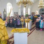 Престольный праздник в храме свв. бесср. Космы и Дамиана с. Бабино