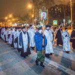 Накануне праздника Богоявления в Ижевске состоялся общегородской крестный ход