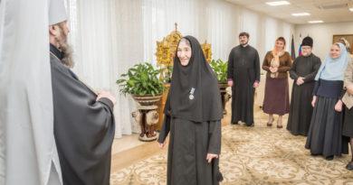Игумения Афанасия (Адамова) отмечена высокой церковной наградой