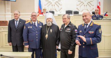 Митр. Викторин принял участие в патриотическом мероприятии «Дорога памяти»