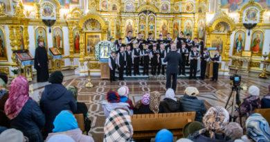 Накануне Благовещения в Михаило-Архангельском соборе прошел концерт духовной музыки
