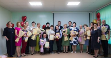 Священник получил награду от Организации родителей детей-инвалидов