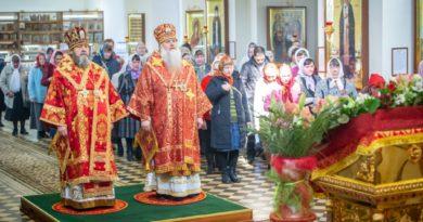 Состоялись торжества по случаю дня памяти священноисповедника Виктора, епископа Глазовского