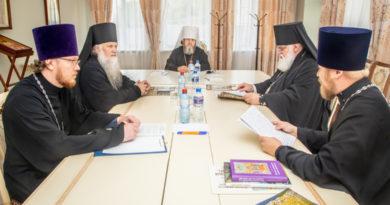 Заседание Архиерейского совета Удмуртской митрополии