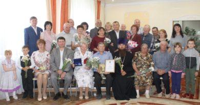 Чествование семей-юбиляров Якшур-Бодьинского района в День святых Петра и Февронии
