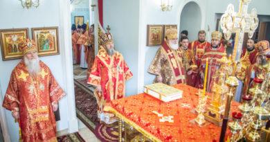 Торжества в день памяти сщмч. Амвросия Сарапульского