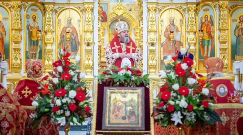 Малый престольный праздник кафедрального храма
