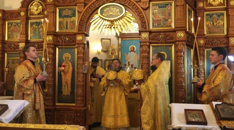 Десятилетие храма в д. Хохряки