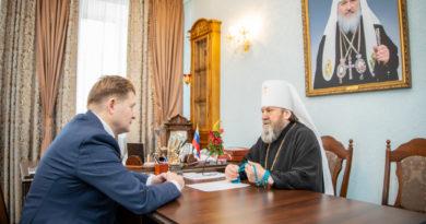 Митрополит Викторин обсудил вопросы взаимодействия с Главой Завьяловского района