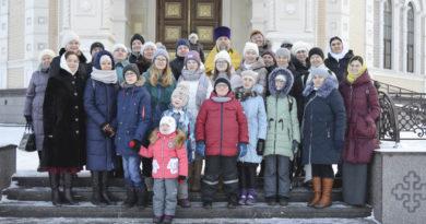 Жизнь учеников воскресной школы для незрячих детей полна разнообразия