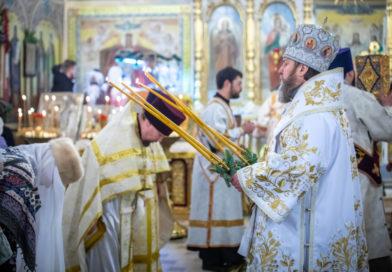 На третий день после Рождества митр. Викторин посетил Свято-Троицкий собор