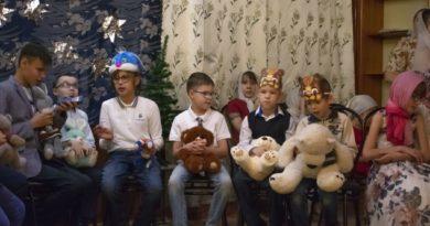 Рождество Христово в воскресной школе для незрячих детей г. Ижевска