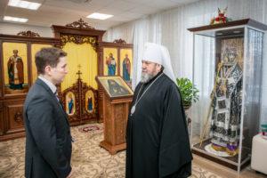 Митрополит Викторин встретился с министром по физической культуре