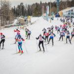 В рамках первой межконфессиональной спартакиады состоялась лыжная гонка
