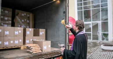 В преддверии Пасхи Ижевской епархии пожертвовали 40 тыс. яиц