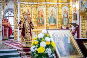 Архипастырское служение в День памяти свт. Кирилла и Мефодия