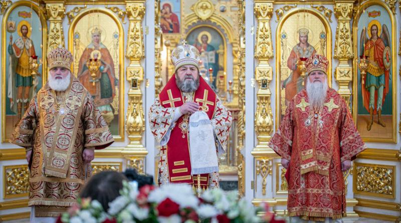 Торжественное богослужение в честь собора святых Удмуртской земли
