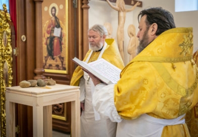 В Воткинске совершили освящение храма Воскресения Христова