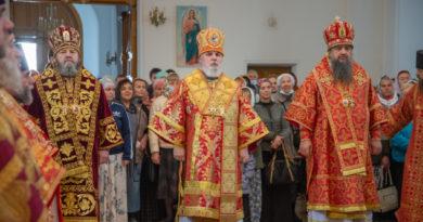 Митрополит Викторин принял участие в торжествах в Белогорском монастыре
