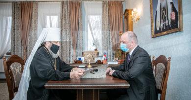 Состоялась встреча митр. Викторина и С.В. Смирнова